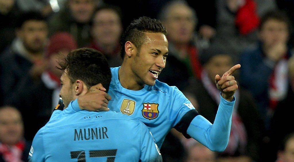708d4772123 Barcelona beats Athletic Bilbao by 2-1 in the Copa del Rey