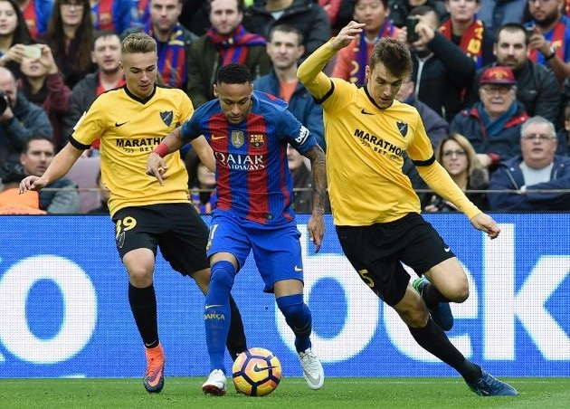 d48d325800 Malaga s wall blocks Barcelona and the game ends with a goalless draw