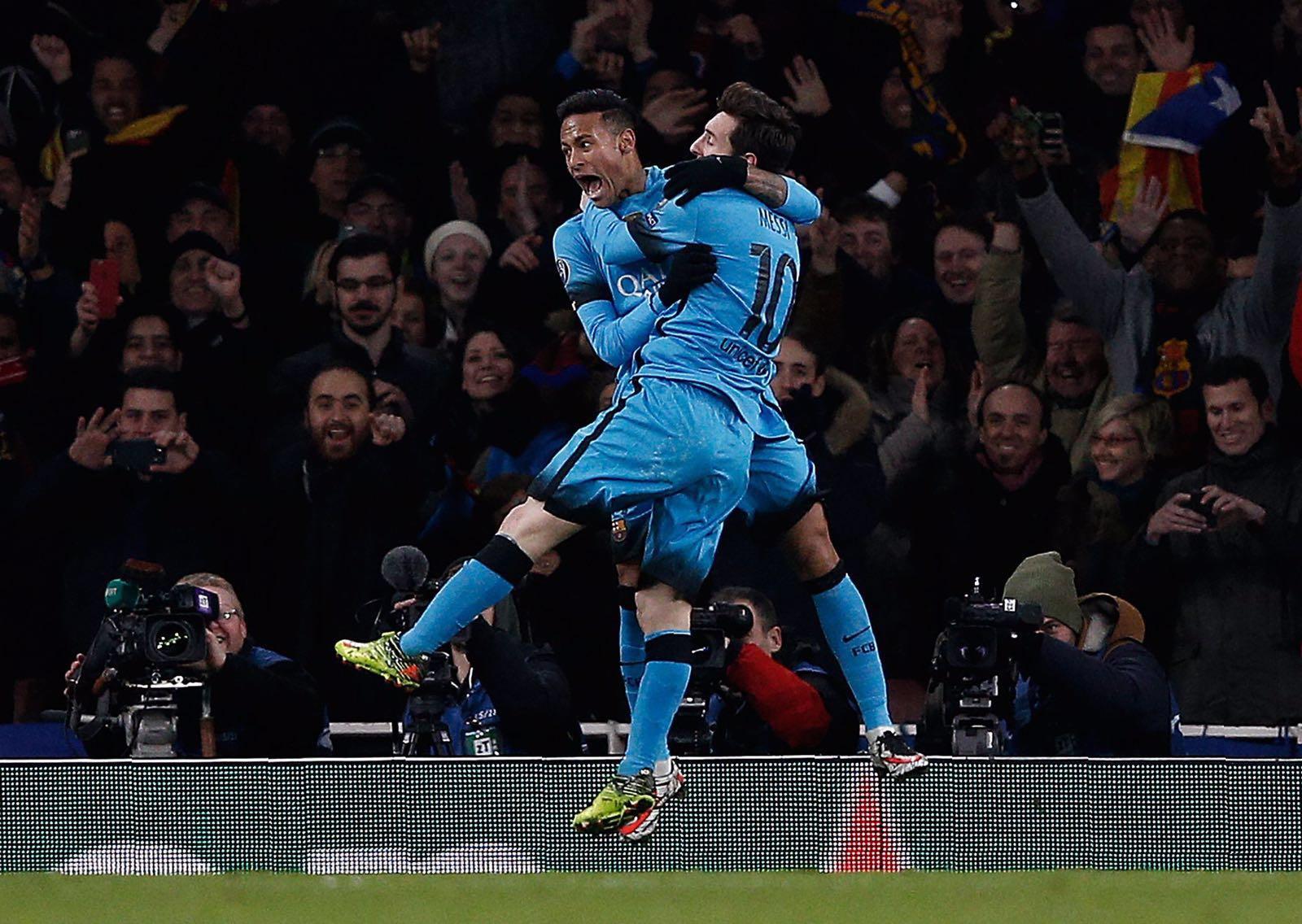 7df4aa0f8d4 Galeria de Fotos - Arsenal 0x2 FC Barcelona - 23 02 2016 - Champions League