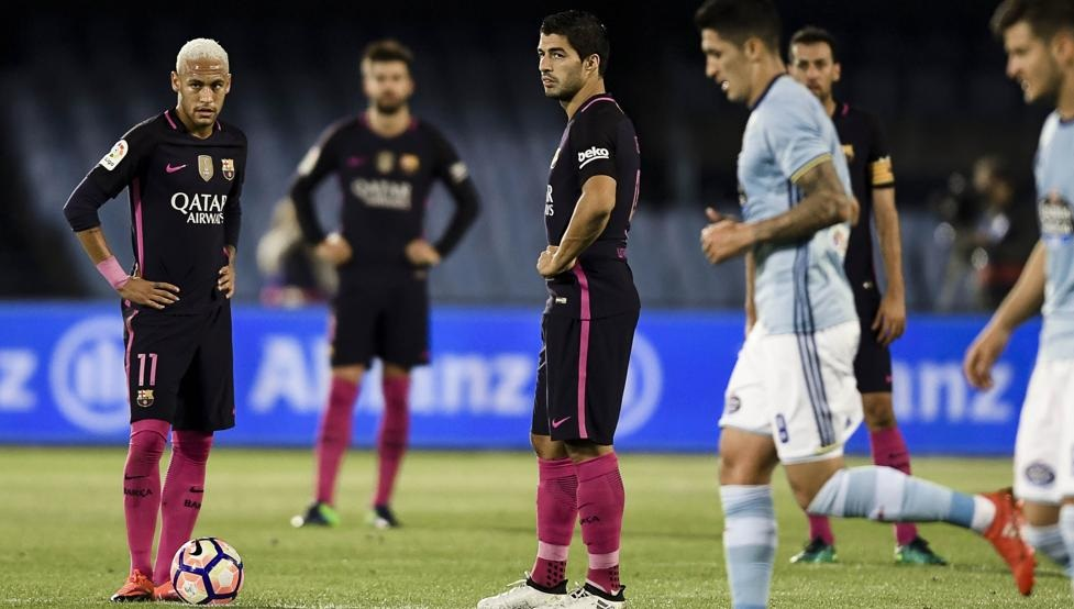Celta de Vigo beats Barcelona by 4-3 at Balaídos. Complicated night for FC  ... 951cb29ea0e72