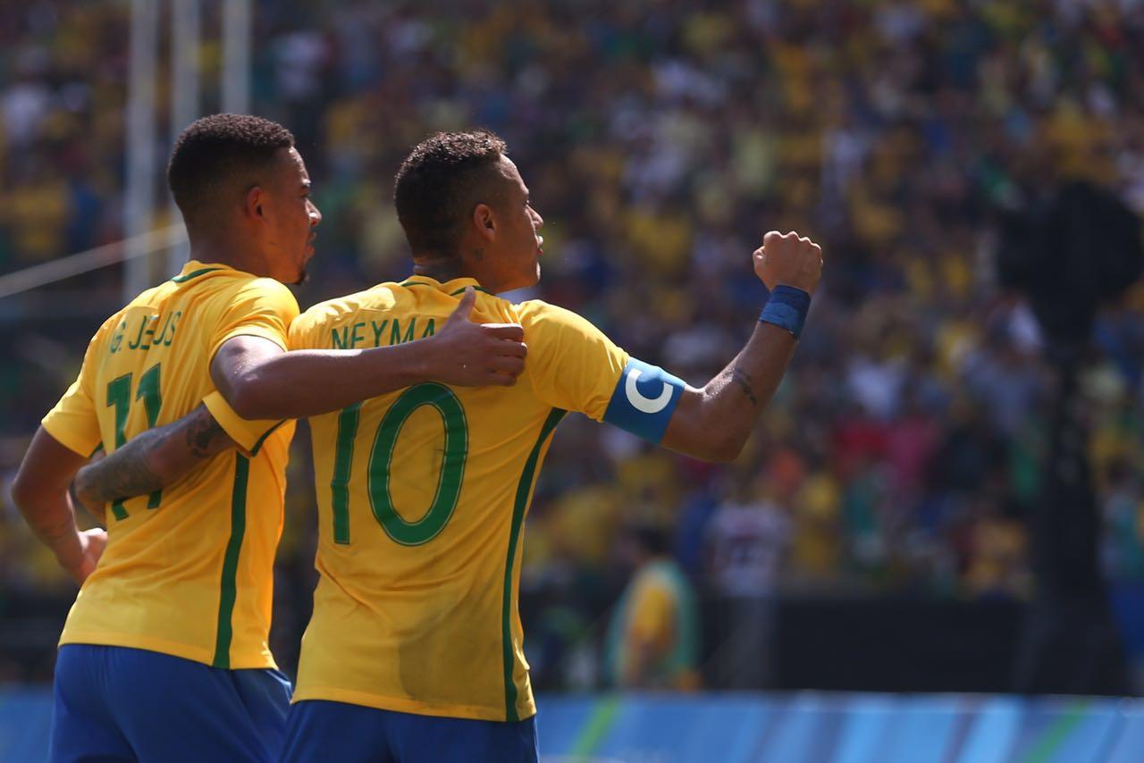 1a0bf4db78 Brasil goleia Honduras e está na final dos Jogos Olímpicos
