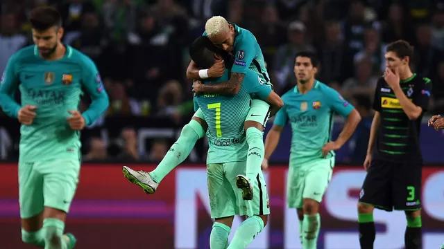 5dc0382195eff El Barcelona le da la vuelta al partido y gana al Borussia Mönchengladbach
