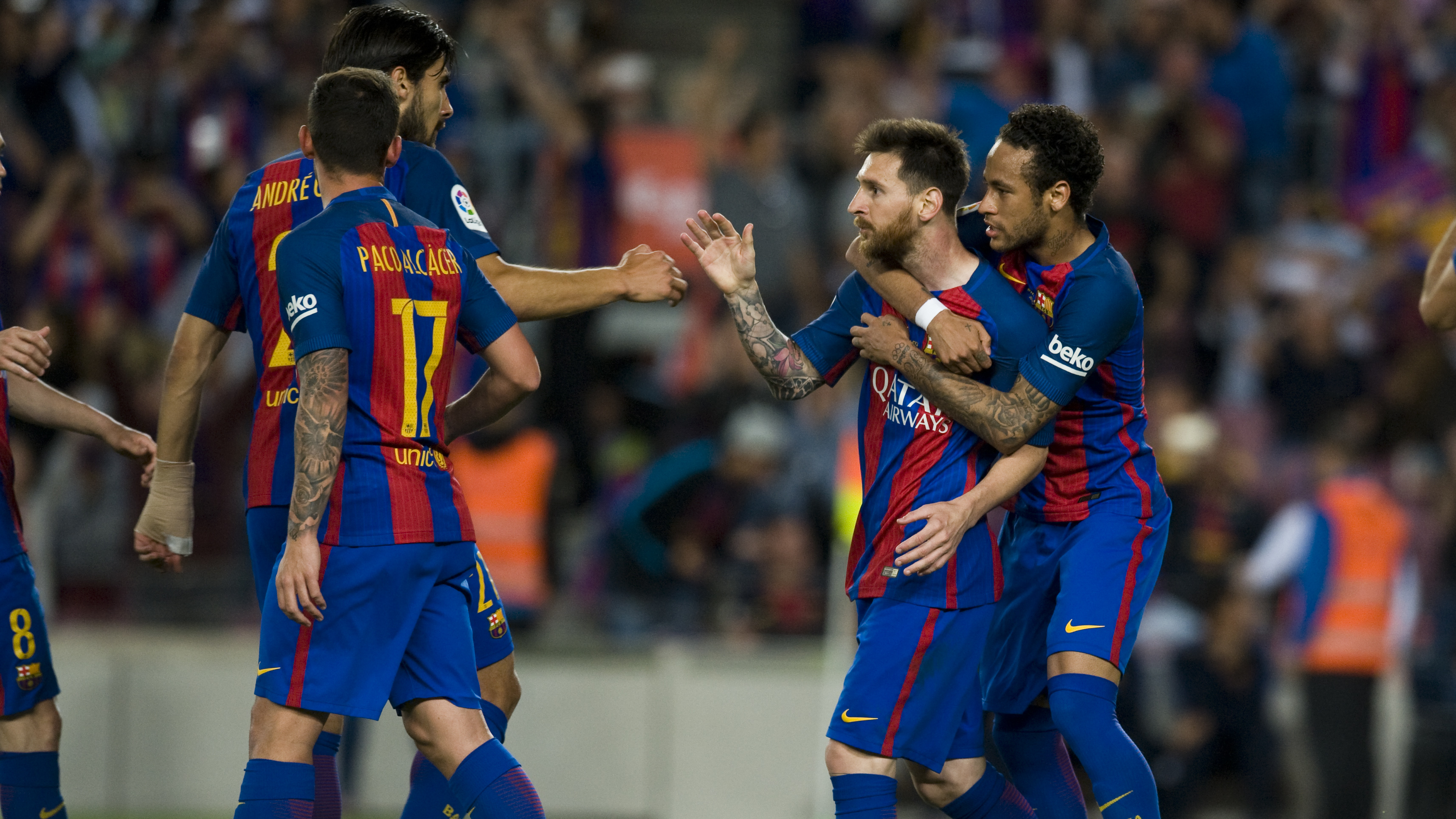 49c0065885 Barcelona beats Eibar and becomes La Liga s Vice-Champion