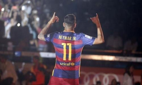 9c2e5b8236 Neymar Jr. scored the first Barcelona on season 2015 2016