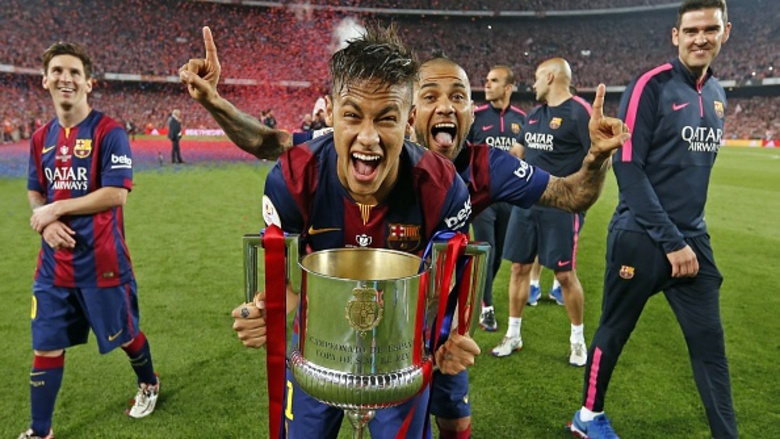 77ee13dd18 Neymar Jr vai disputar sua 3ª final da Copa do Rei com um total de 13  partidas disputadas no torneio