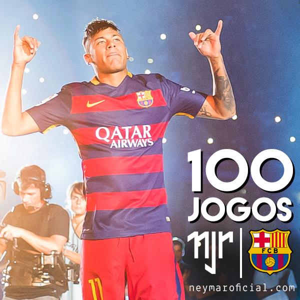 9c38743bca8 Neymar Jr. completa 100 partidos con el FC Barcelona