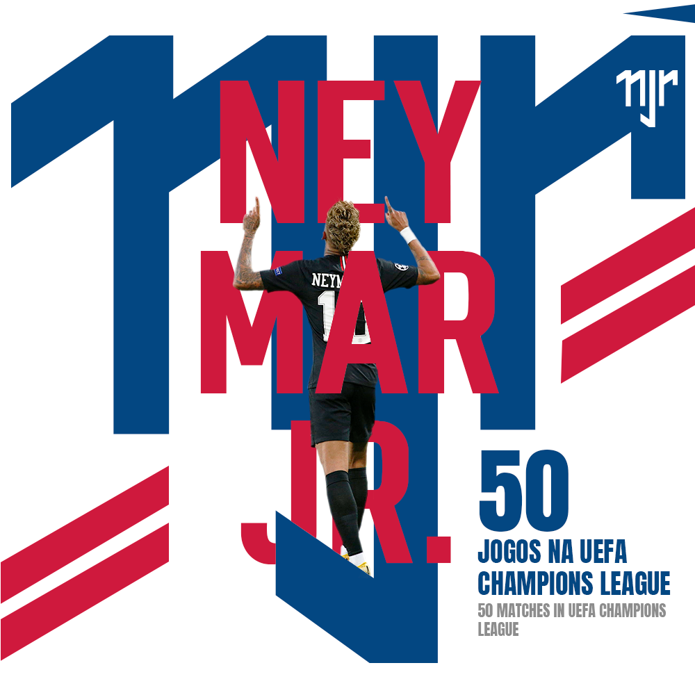 Neymar Jr - 50 matches in the Champions League c1fd221eca97f