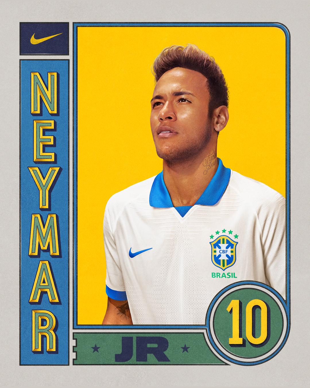 7dcfd81b0 Novo uniforme da Seleção Brasileira é inspirado em centenário da Copa  América