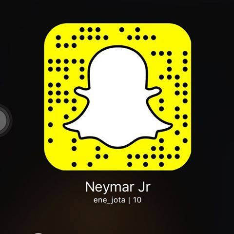 Neymar Jr no Snapchat cba785c023cd3