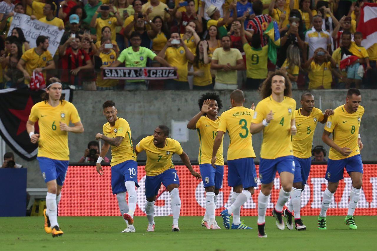 896d51c6cf710 Brasil e Uruguai empatam na Arena Pernambuco