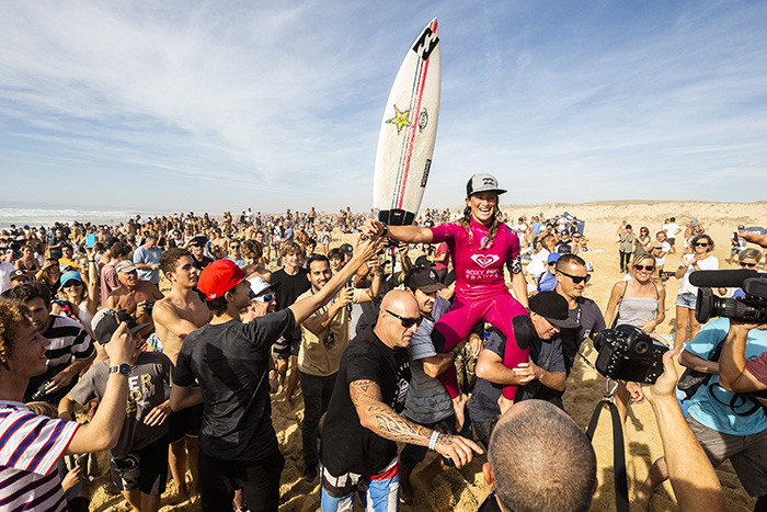 Courtney Conlogue. Foto: WSL / Masurel.