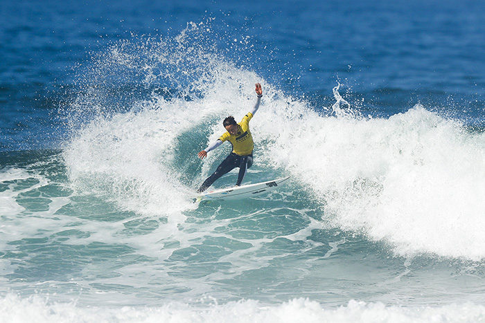 Sally Fitzgibbons. Foto: WSL / Poullenot.
