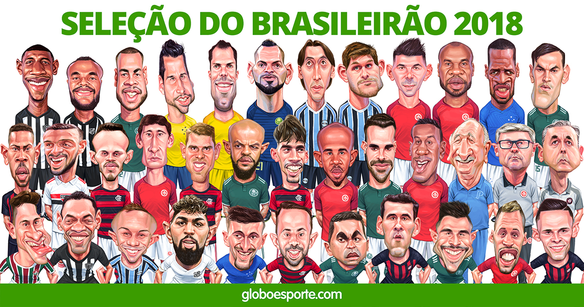 ffacc36a675a9 Seleção do Brasileirão 2018
