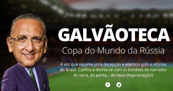 Galvãoteca 2018 Globoesportecom