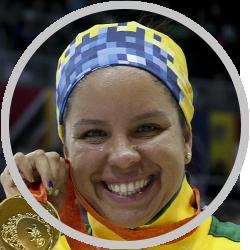 Edênia Garcia - Natação
