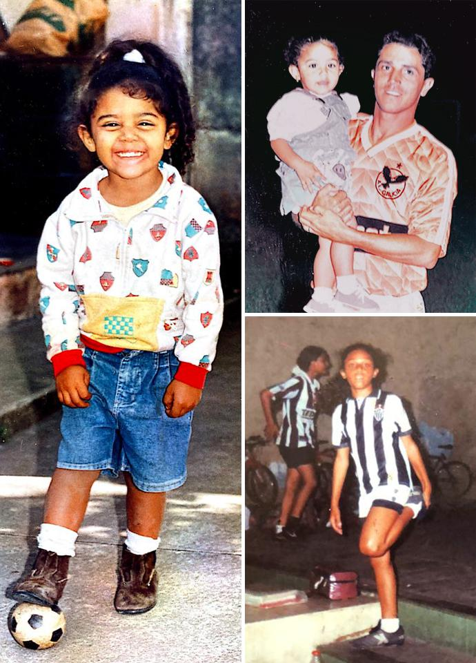 Marcelo Nascimento Leandro na infância - Arquivo pessoal