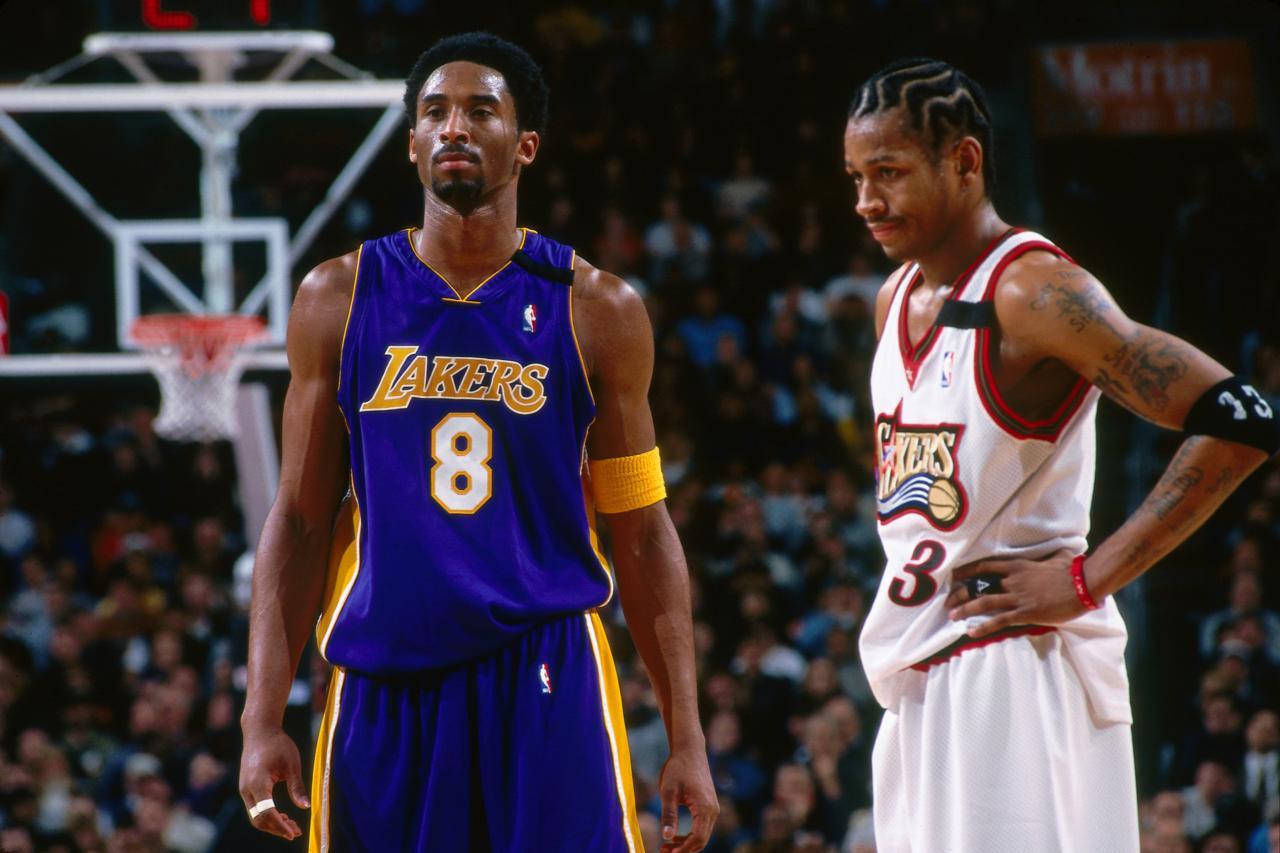 Kobe Bryant Allen Iverson - Getty Images