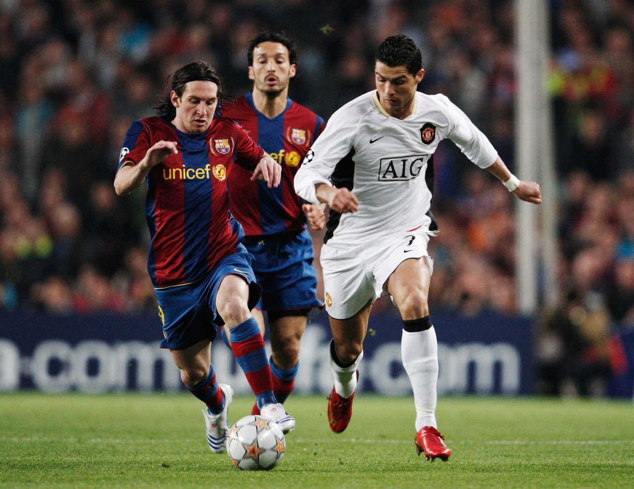 Barcelona 0 x 0 Manchester United - Jasper Juinen/Getty Images