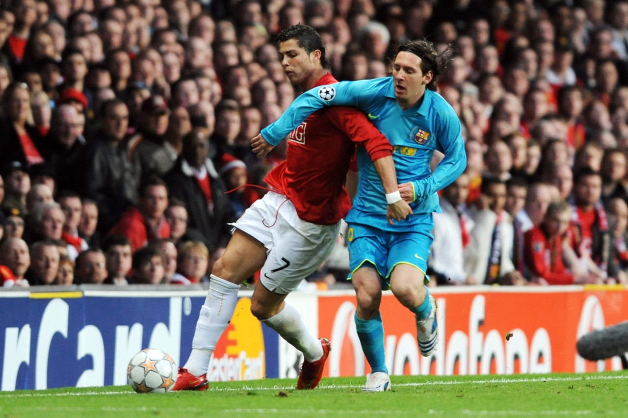 Manchester United 1 x 0 Barcelona - Etsuo Hara/Getty Images