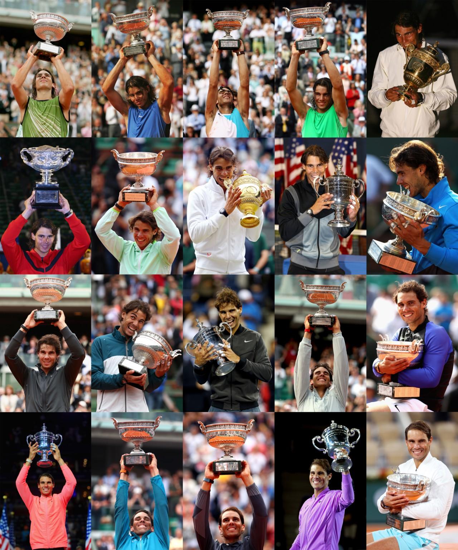 Os 20 títulos de Rafael Nadal - Getty Images