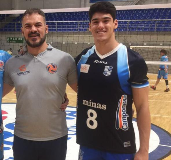 Pela primeira vez, Manoel e Henrique Honorato irão se enfrentar na Superliga - Arquivo pessoal