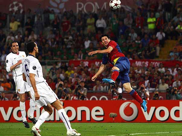 Barcelona 2 x 0 Manchester United - AFP