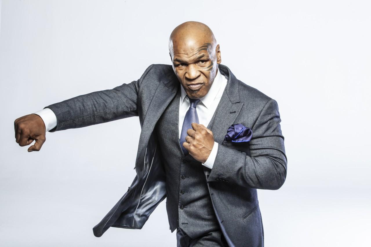 Mike Tyson na atualidade: empresário - Divulgação