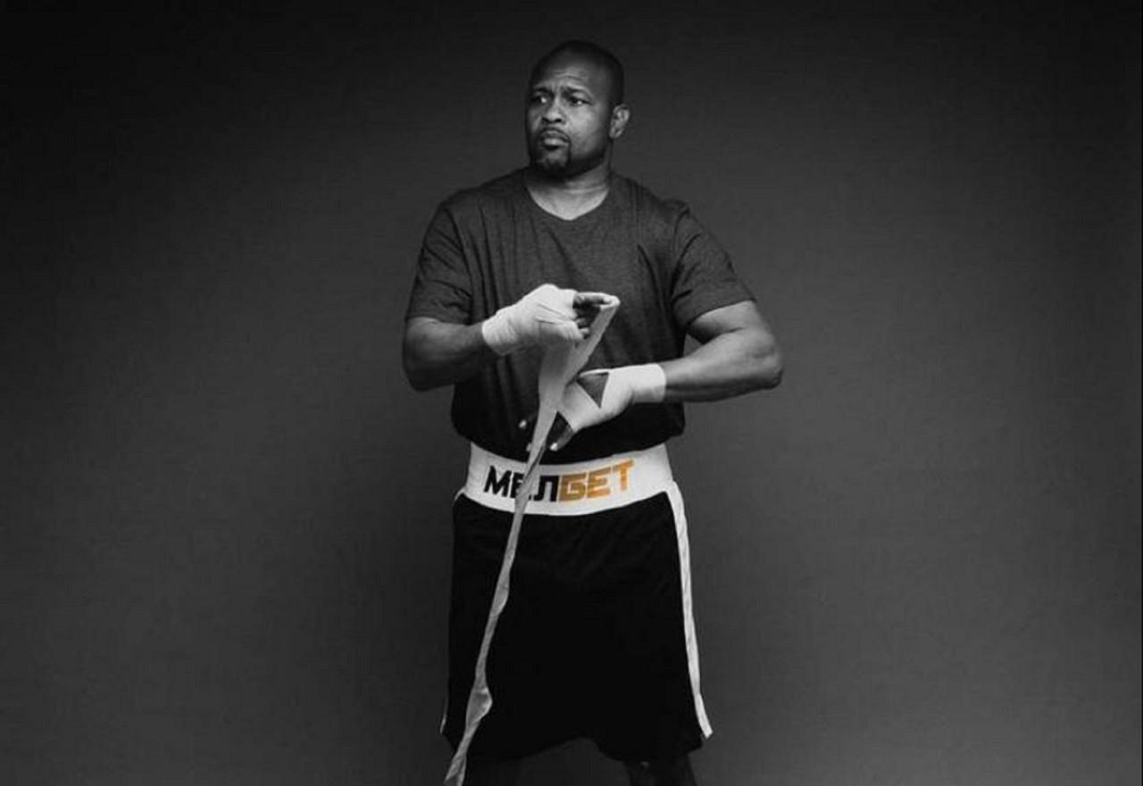 Roy Jones Jr. antes de luta contra Tyson - Reprodução
