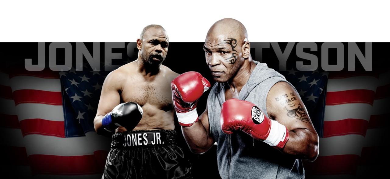 Mike Tyson Roy Jones Jr. - Infografia