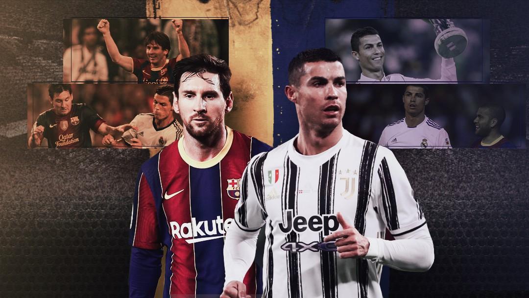 Carrossel - Messi x Cristiano Ronaldo