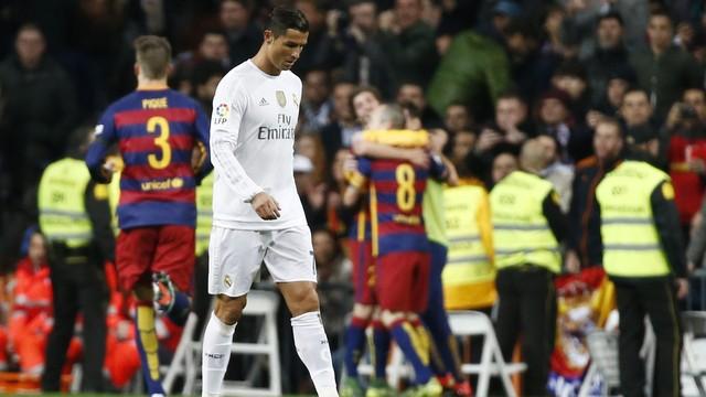 Real Madrid 0 x 4 Barcelona - REUTERS