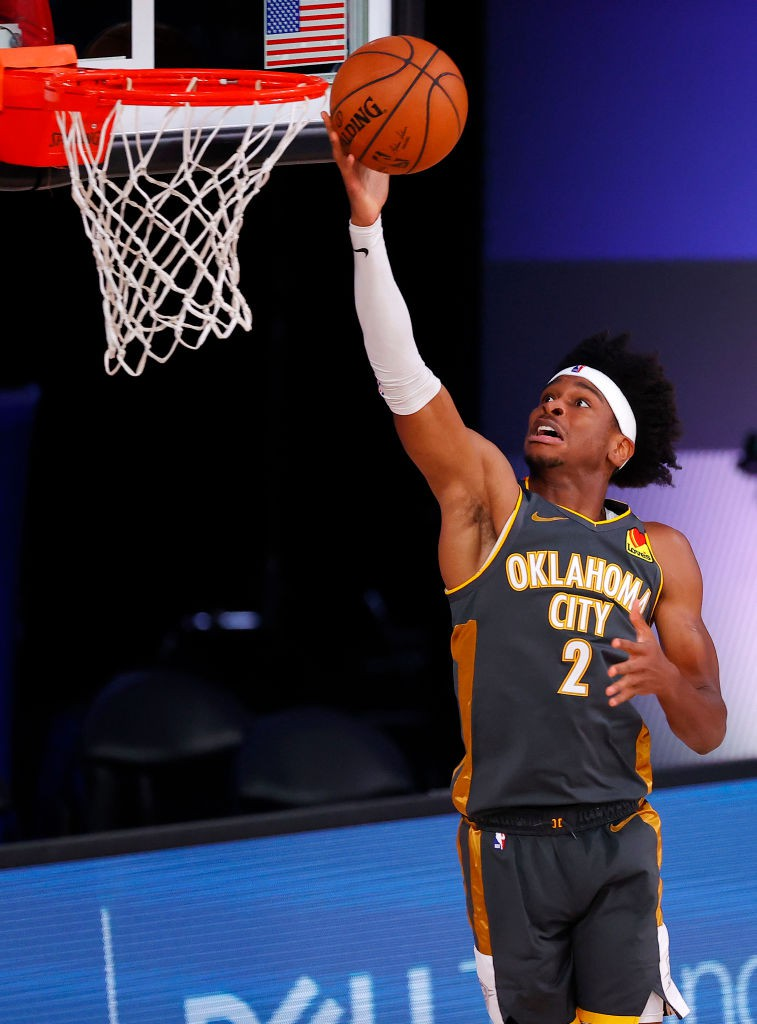 Shai Gilgeous-Alexander, armador do Oklahoma City Thuner - Kevin C. Cox/Getty Images