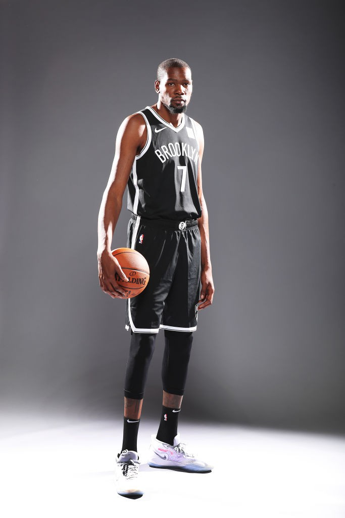 Kevin Durant, astro do Brooklyn Nets - Getty Images