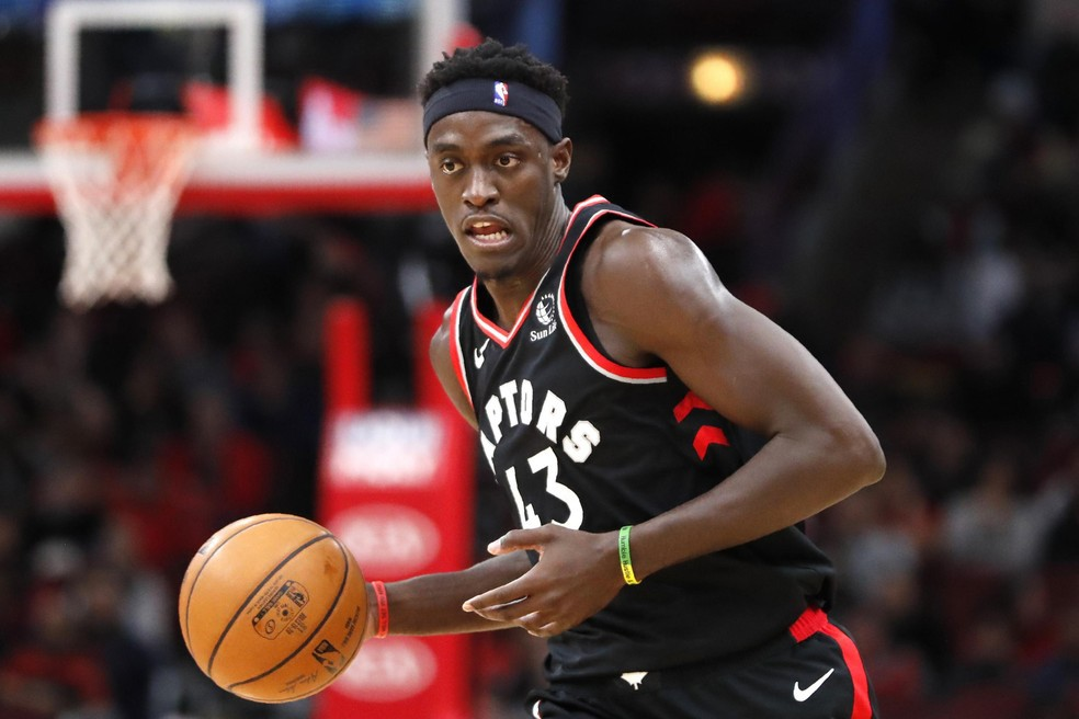 Pascal Siakam, ala-pivô do Toronto Raptors - Reuters