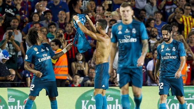 Barcelona 1 x 3 Real Madrid - EFE