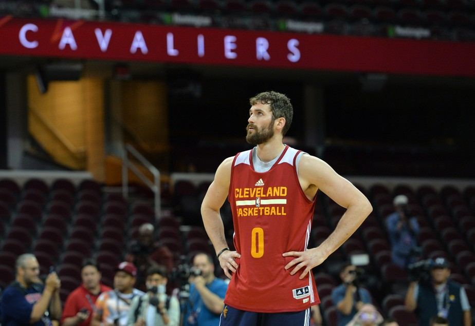 Kevin Love, ala-pivô do Cleveland Cavaliers - Getty Images