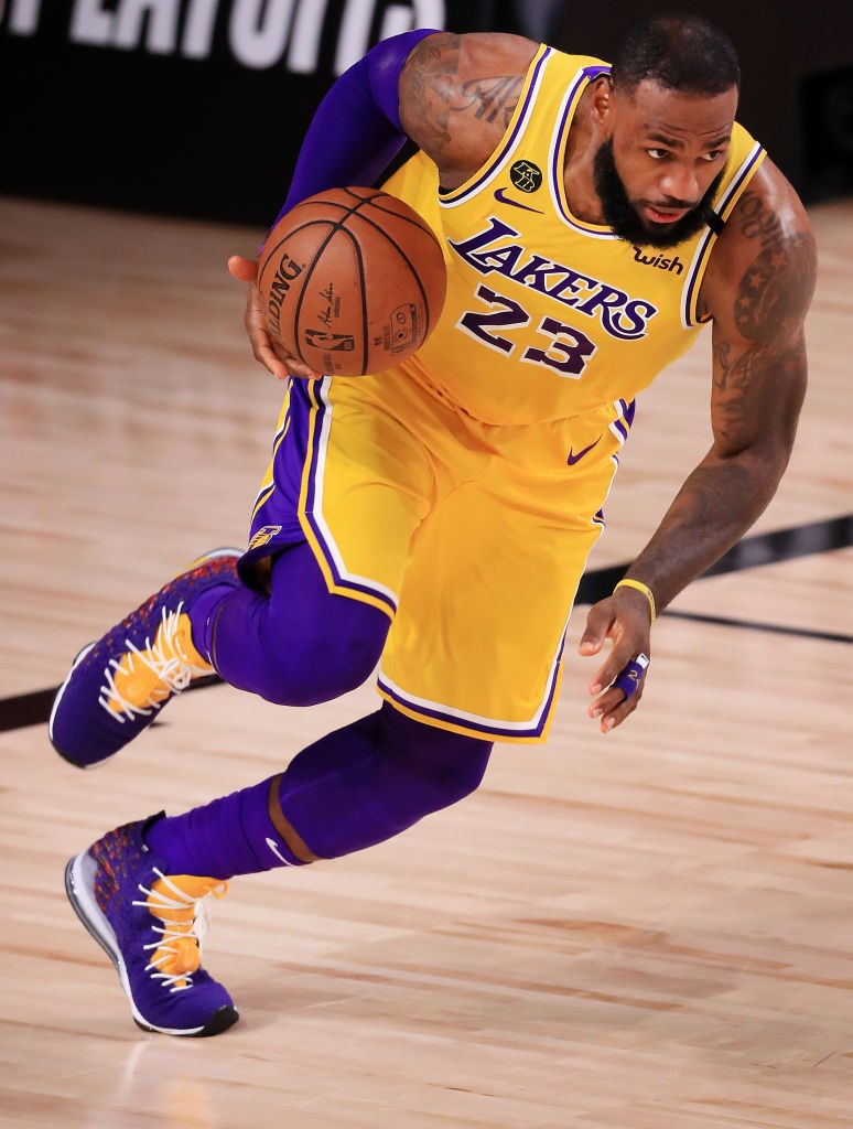 LeBron James, astro do Los Angeles Lakers - Getty Images