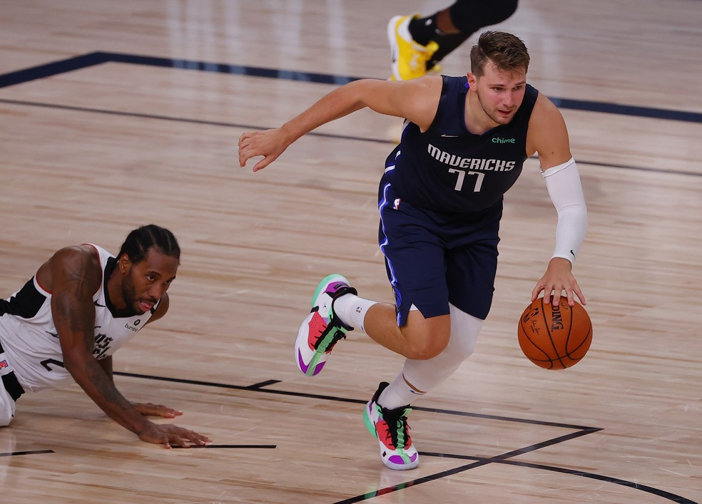 Luka Doncic, astro do Dallas Mavericks - Kevin C. Cox/Getty Images