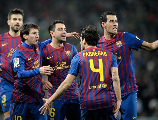 Real Madrid 1 x 3 Barcelona - AP