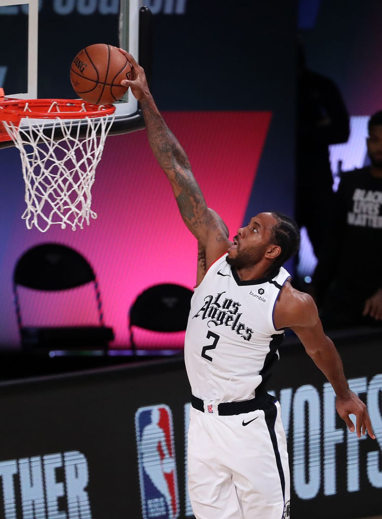 Kawhi Leonard, craque do Los Angeles Clippers - Getty Images