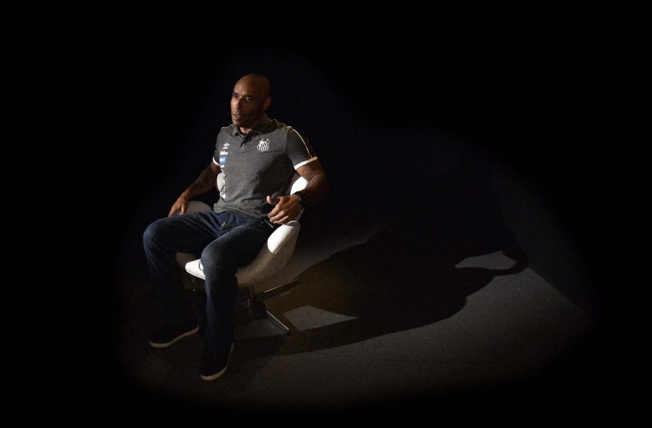 Edinho em entrevista para o GloboEsporte.com - Marcos Ribolli