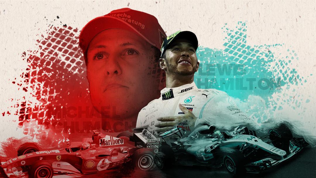 Schumacher x Hamilton