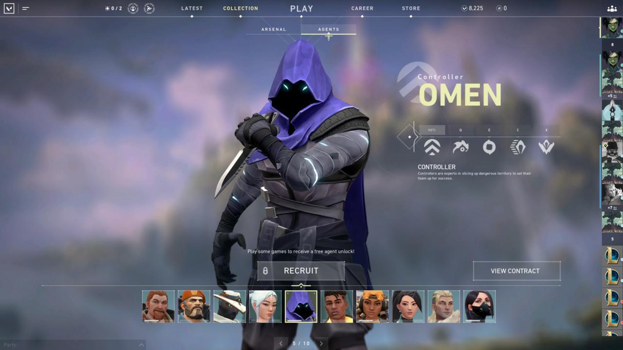 Agente Omen - Reprodução