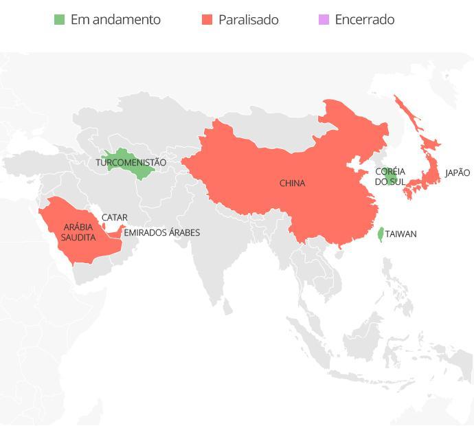 Ásia dia 8 coronavírus futebol - Infografia