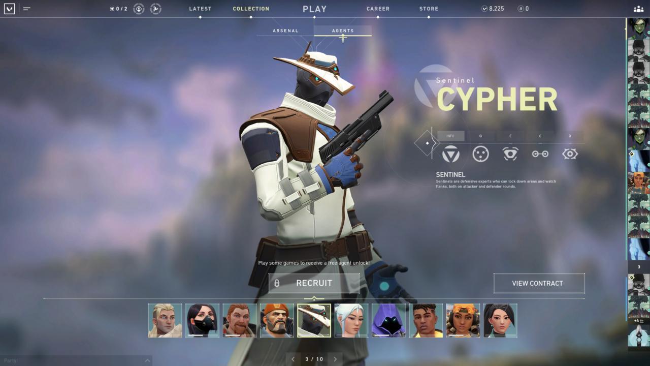 Agente Cypher - Reprodução