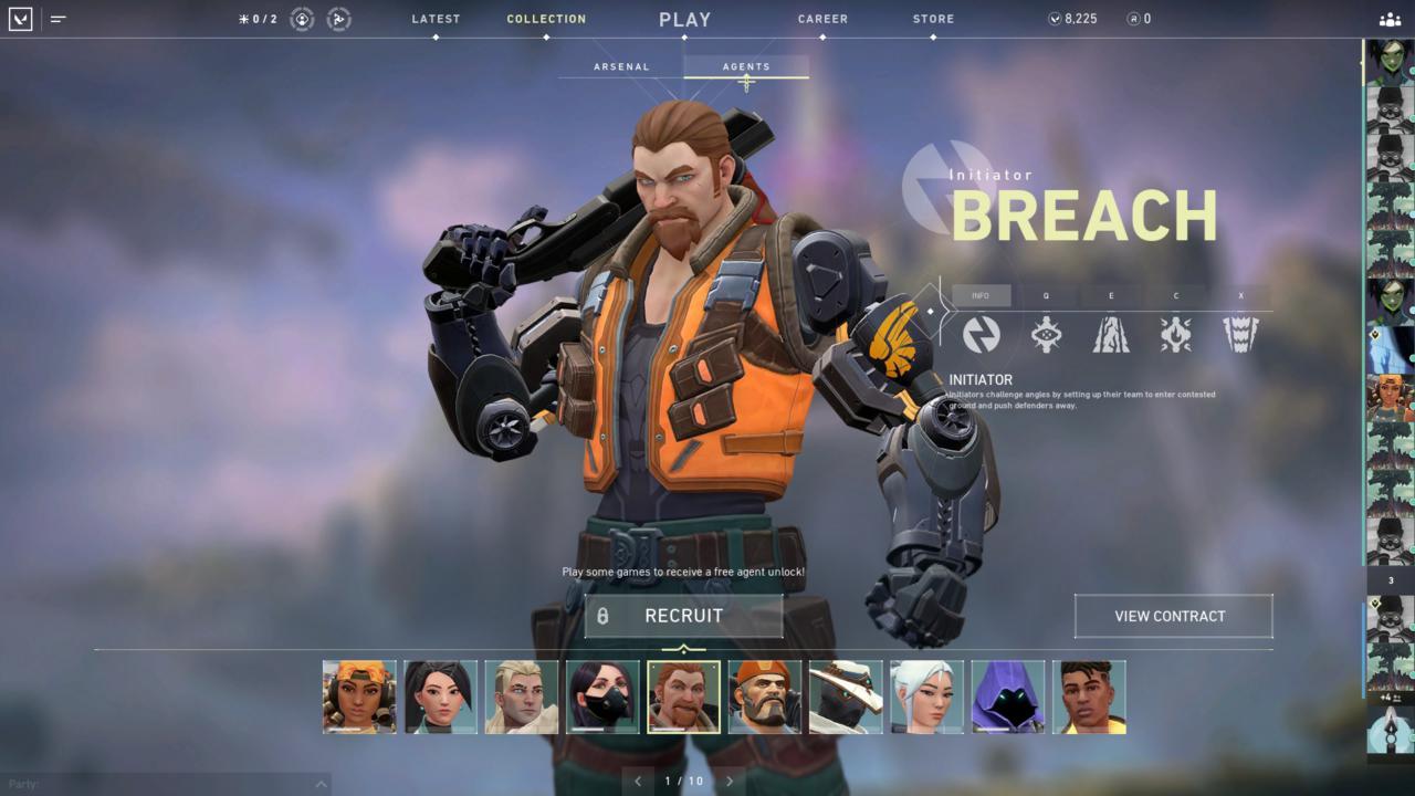 Agente Breach - Reprodução