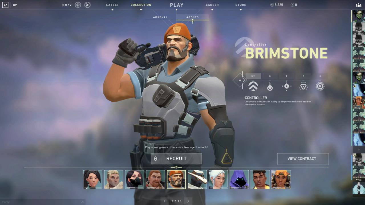 Agente Brimstone - Reprodução