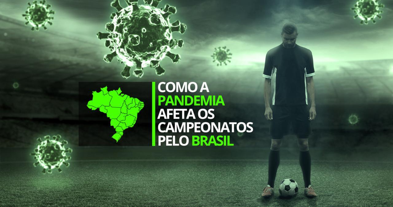 Coronavírus: veja o mapa da paralisação no futebol brasileiro