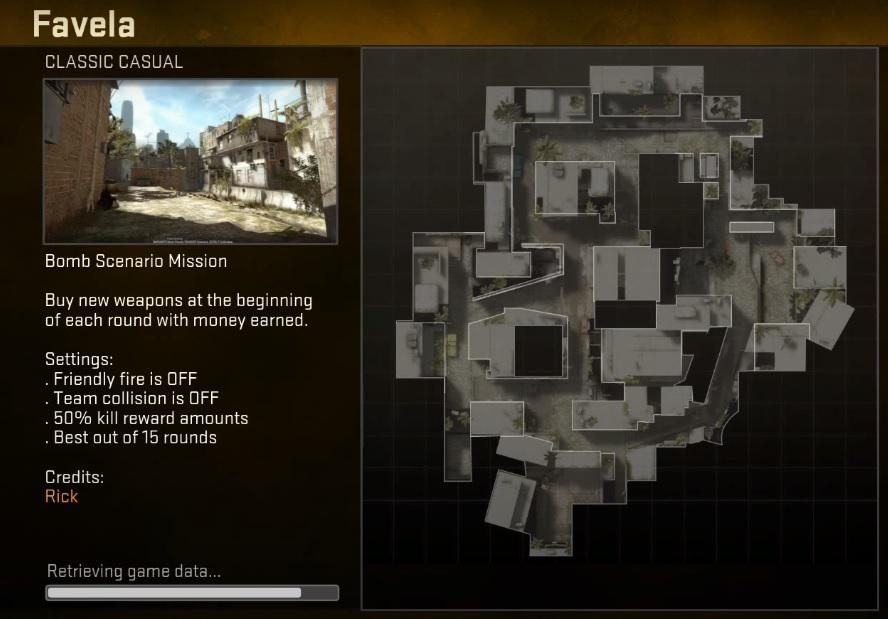 Mapa Favela na Operação Payback - Reprodução