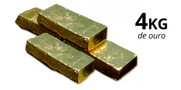 arte barras de ouro - infoesporte